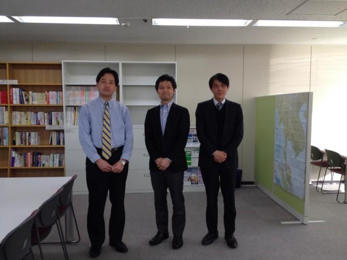 130118 神戸市アジア進出支援センターにて。